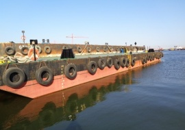 Go 1161 - Flat top deck barge - 36m