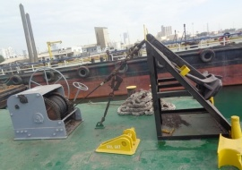 Go 1164 - Flat top deck barge - 45m