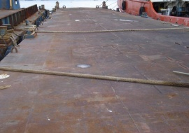 Go 0166 - Flat top deck barge - 55m