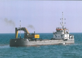 Go 0451 - Backhoe Dredger - 57m