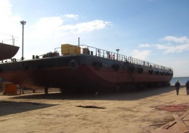 Go 0545 - Flat top deck barge - 61m
