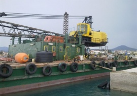 Go 0483 - Floating Crane - 37m