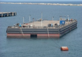 Go 0747 - Ballastable deck barge - 91m