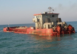 Go 0090 - Split Hopper Barge - 50m