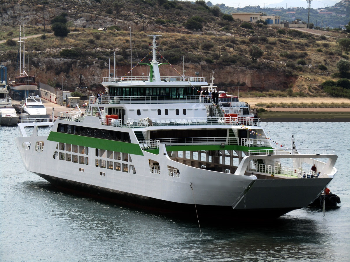 Go 0837 -  Double Ended Ferry - 93m