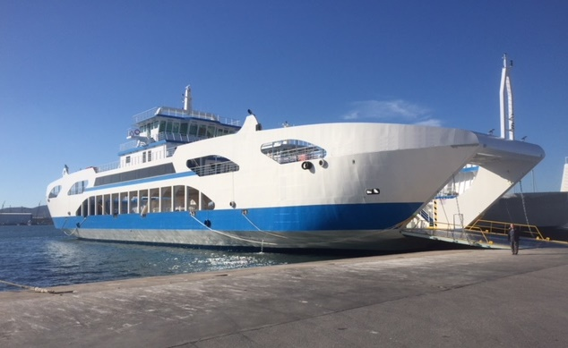 Go 0838 -  Double Ended Ferry - 92m