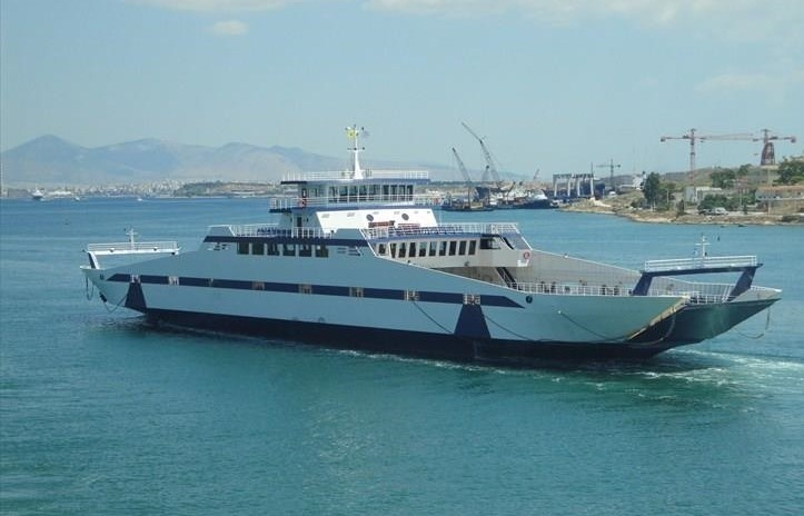 Go 0255 - Double Ended Ferry - 105m