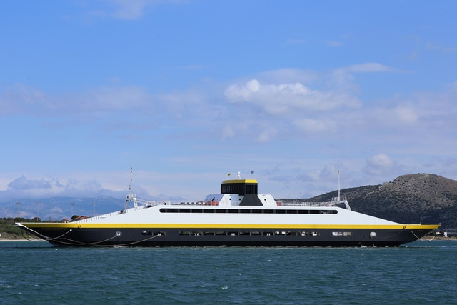 Go 0866 - Double Ended Ferry - 107m